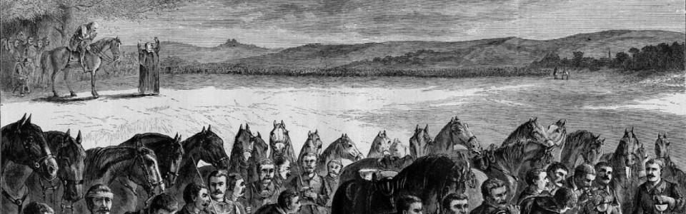 <i>Scottish Covenanters Before a Battle</i>, Paul Frenzeny.jpg