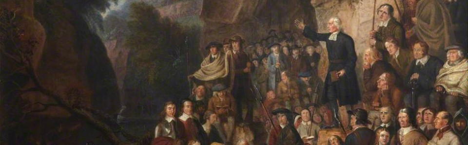 """""""The Covenanters in a Glen"""", Alexander Carse, c.1800"""
